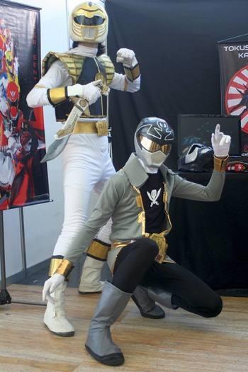 Kiba Ranger & Gokai Silver