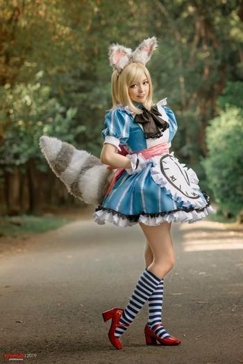 Nana Clockwork maid cosplay