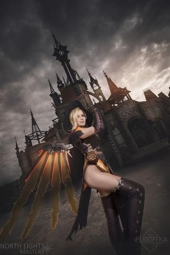 Mercy wings cosplay Overwatch